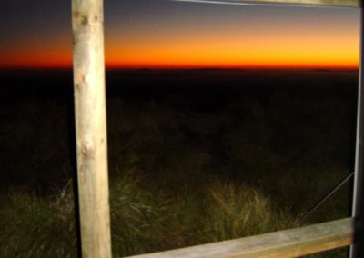 Sunrise Hut Hawkes Bay sunset