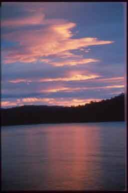 Lake Manapouri Sunset